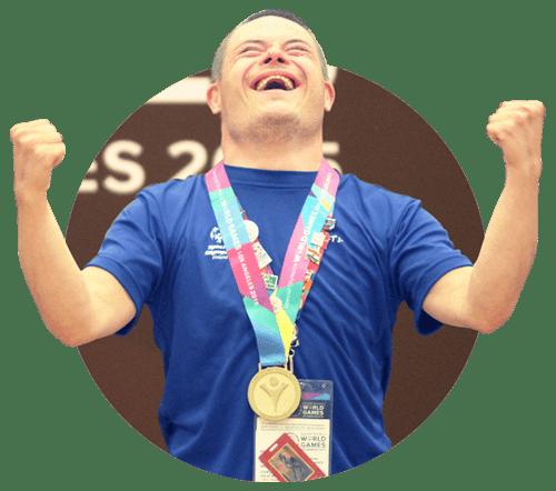 Paralympiarahasto tarinamme sivun kuvitus tuuletus